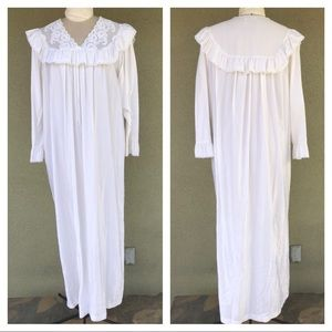 Vintage satin lace nightgown